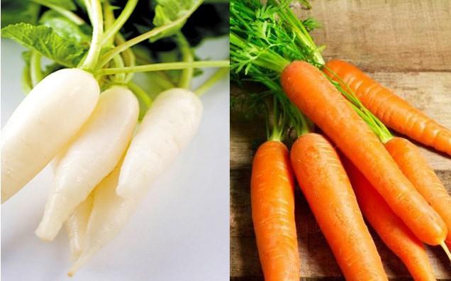 Nước ép cà rốt và củ cải đường giảm cân