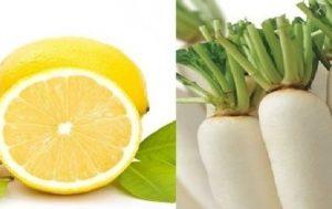 Nước ép củ cải đường và chanh giảm cân