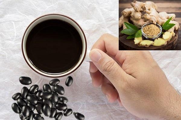 Cách nấu nước đậu đen với gừng giảm cân, cách giảm cân bằng nấu nước đậu đen và gừng, uống nước đậu đen rang với gừng, đã ai giảm cân bằng nước đậu đen chưa, kinh nghiệm uống nước đậu đen giảm cân, uống nước đậu đen rang đúng cách