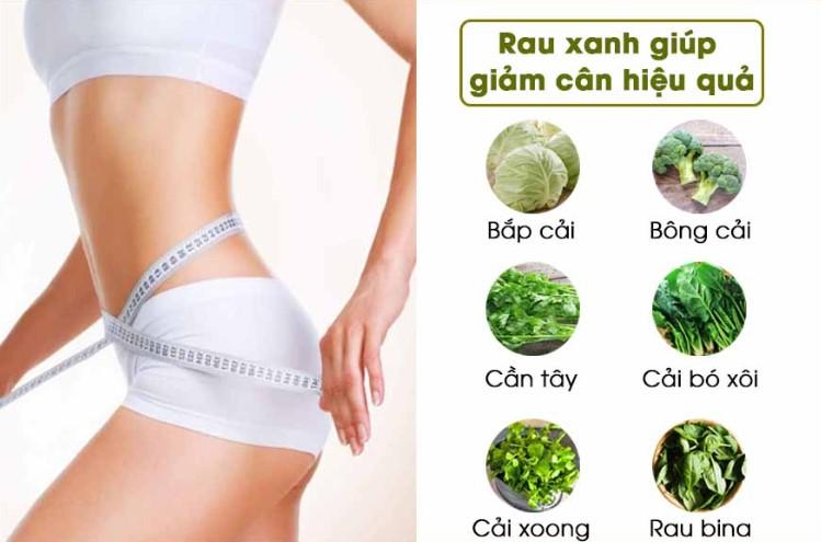 Bí quyết ăn rau cải xong giảm cân